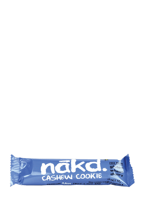 Eat Nakd Sports Nutrition Cashew Cookie Nakd Bar, 35g, Various Flavours 167183