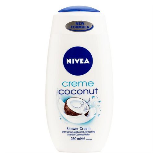 Nivea Toiletries Nivea Crème Coconut Shower Cream, 250ml 4005808795697 169318