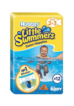 Mopani Pharmacy Baby Huggies Little Swimmers Nappies 2-3, 12's 5029053537795 178341