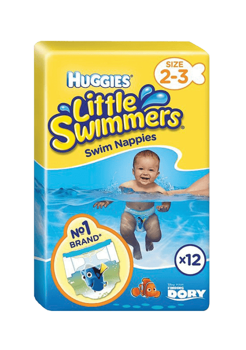 Huggies Little Swimmers Nappies 2-3, 12's
