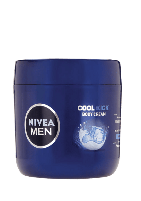 Nivea Body Cream, Men, 400ml Cool Kick