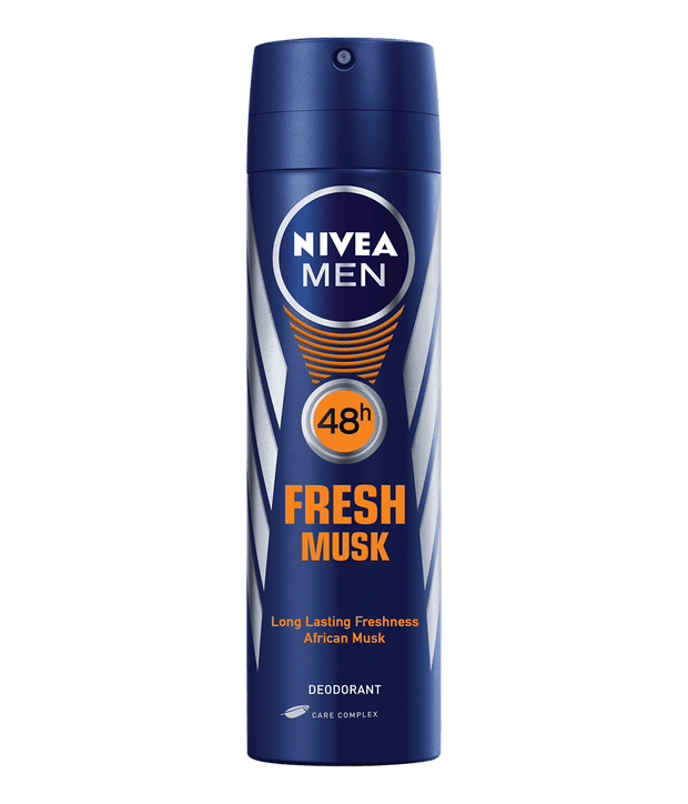 Nivea Anti-Perspirant Deodorant Men, 150ml, Various - 2 for R45