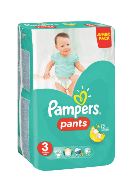Pampers Active Baby Pants 3 Midi, 60's