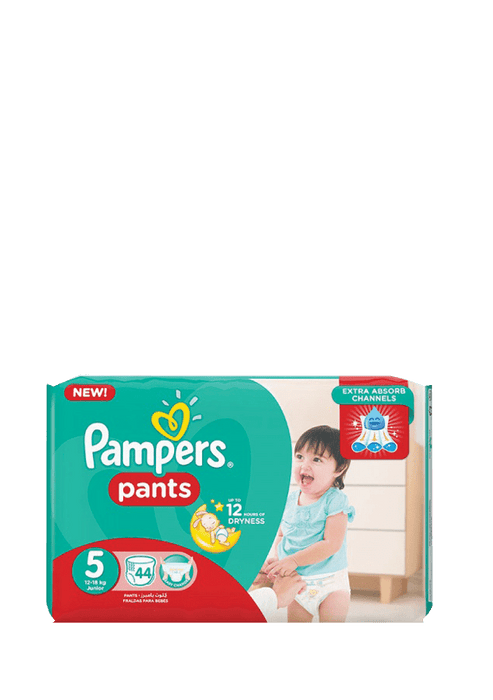 Mopani Pharmacy Baby Pampers Active Baby Pants 5 Junior, 44's 4015400672906 181680