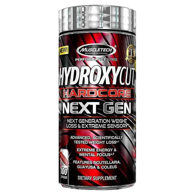 MuscleTech HydroxyCut Hardcore Next Gen Caps, 100's