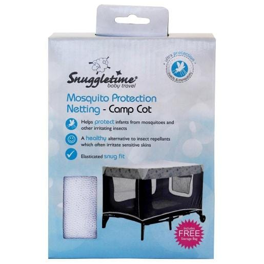 Mopani Pharmacy Baby Snuggletime Mosquito Protection Netting - Camp Cot 6006759009435 186302
