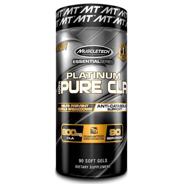 MuscleTech Platinum Pure CLA Softgels, 90's