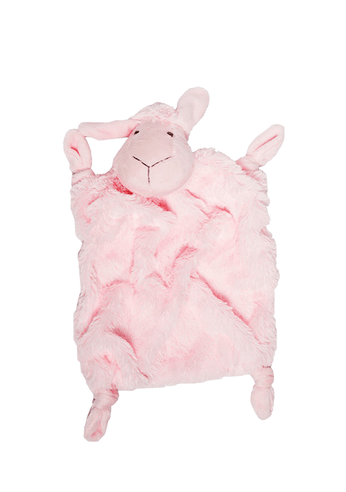 Mopani Pharmacy Baby Pink SnuggleTime Classic Sheep Comfort Blankie - Various Colours 207671
