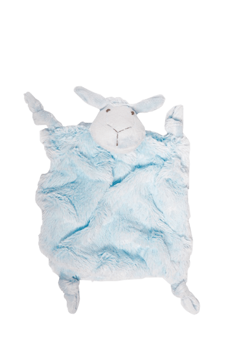 Mopani Pharmacy Baby Blue SnuggleTime Classic Sheep Comfort Blankie - Various Colours 207672