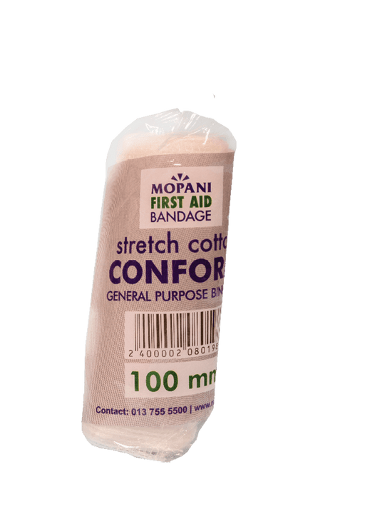 Mopani Pharmacy First Aid Mopani First Aid Bandage Conform, 100mm 2400002080198 208019