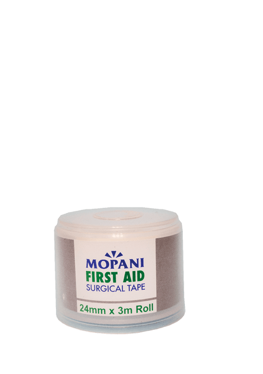 Mopani Pharmacy First Aid Mopani First Aid Surgical Tape, 24mm x 3m 2400002080433 208043
