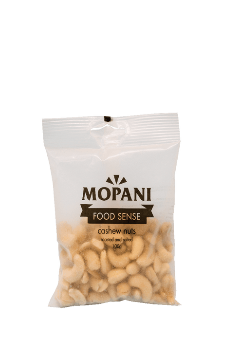 Mopani Food Sense Cashew Nuts, 100g, Various Types