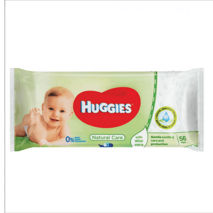 Huggies Baby Wipes Natural Care 56's