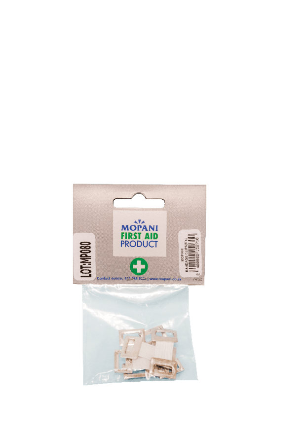 Mopani First Aid Bandage Clips, 5's