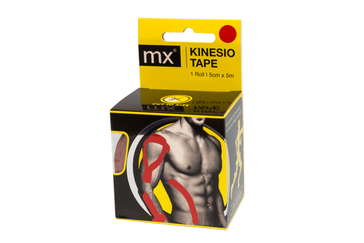 Mopani Pharmacy Sports Nutrition MX Kinesio Tape, 5cm x 5cm - Various Colours