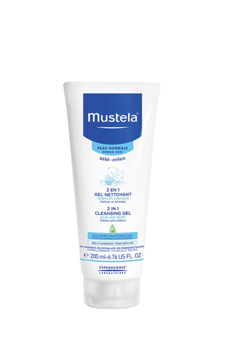 Mustela Baby Mustela 2 in 1 Cleansing Gel, 200ml 3504105028183 219073
