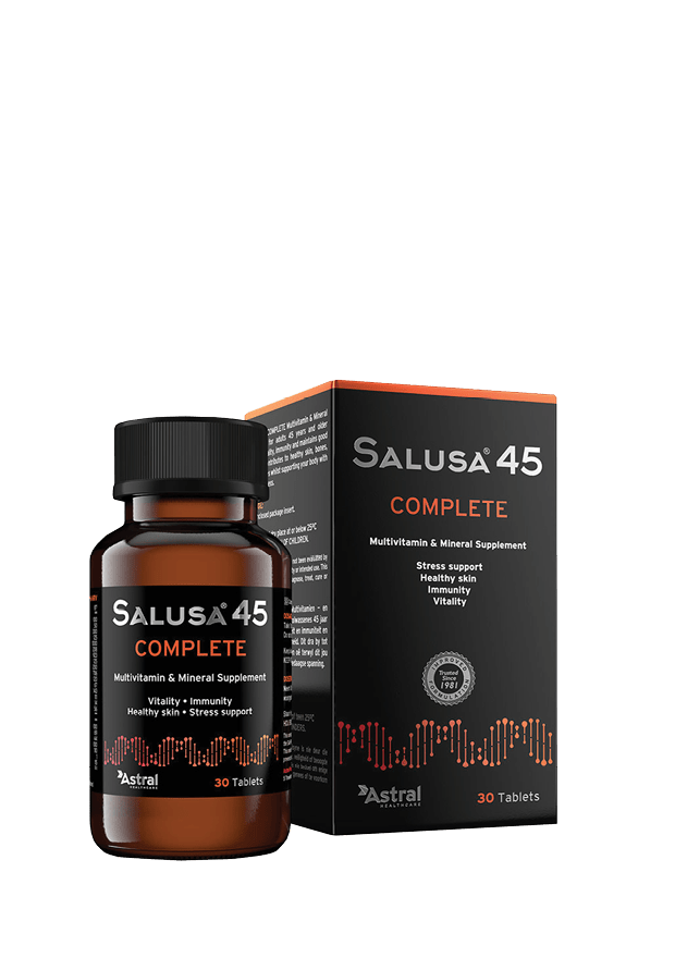 Salusa 45 Complete Multivitamin and Mineral Supplement Tabs, 30's