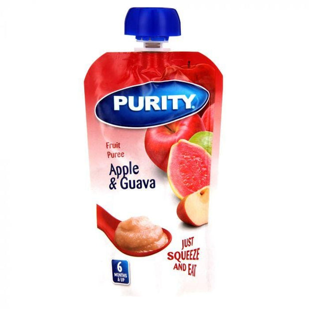 Purity Pouches Apple & Guava, 110ml