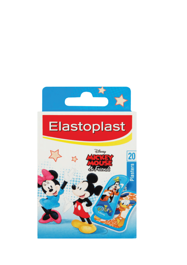 Elastoplast Disney's Mickey Mouse and Friends Plasters, 20's