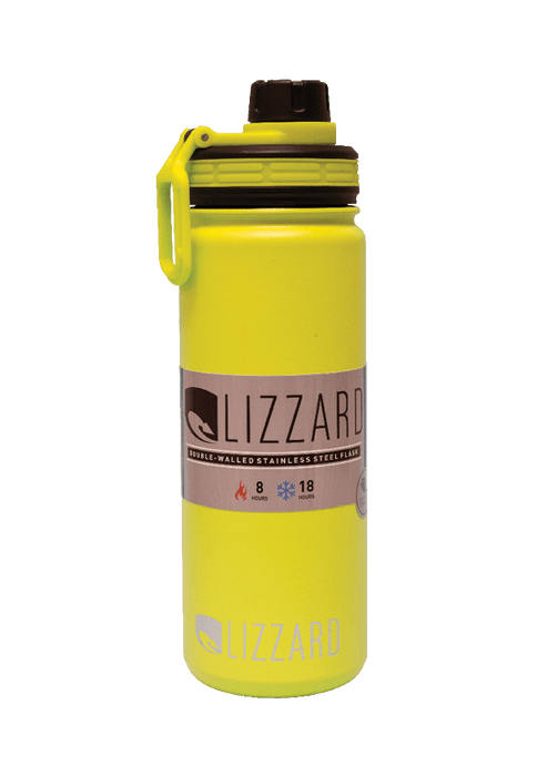 Mopani Pharmacy Household Lime Lizzard Flask, 530ml, Various Colours 2400002220709 222070