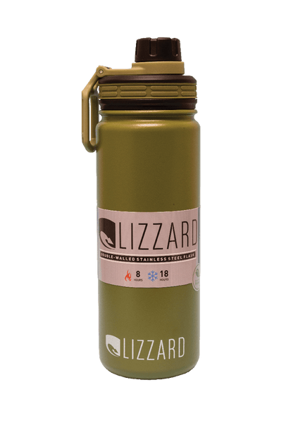 Lizzard Flask, 530ml, Various Colours