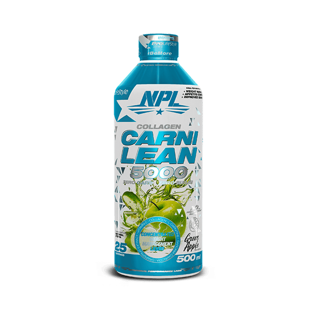 NPL Carni Lean 5000 Green Apple 500ml