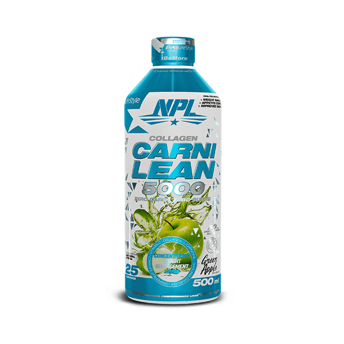 NPL Sports Nutrition NPL Carni Lean 5000 Green Apple, 500ml 6009708880192 224418