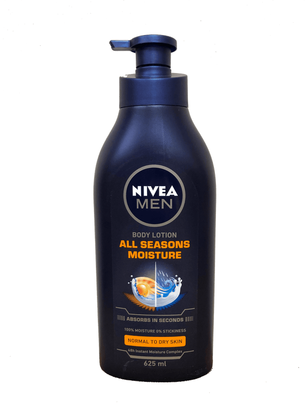 Nivea All Seasons Moisture Body Lotion, 625ml