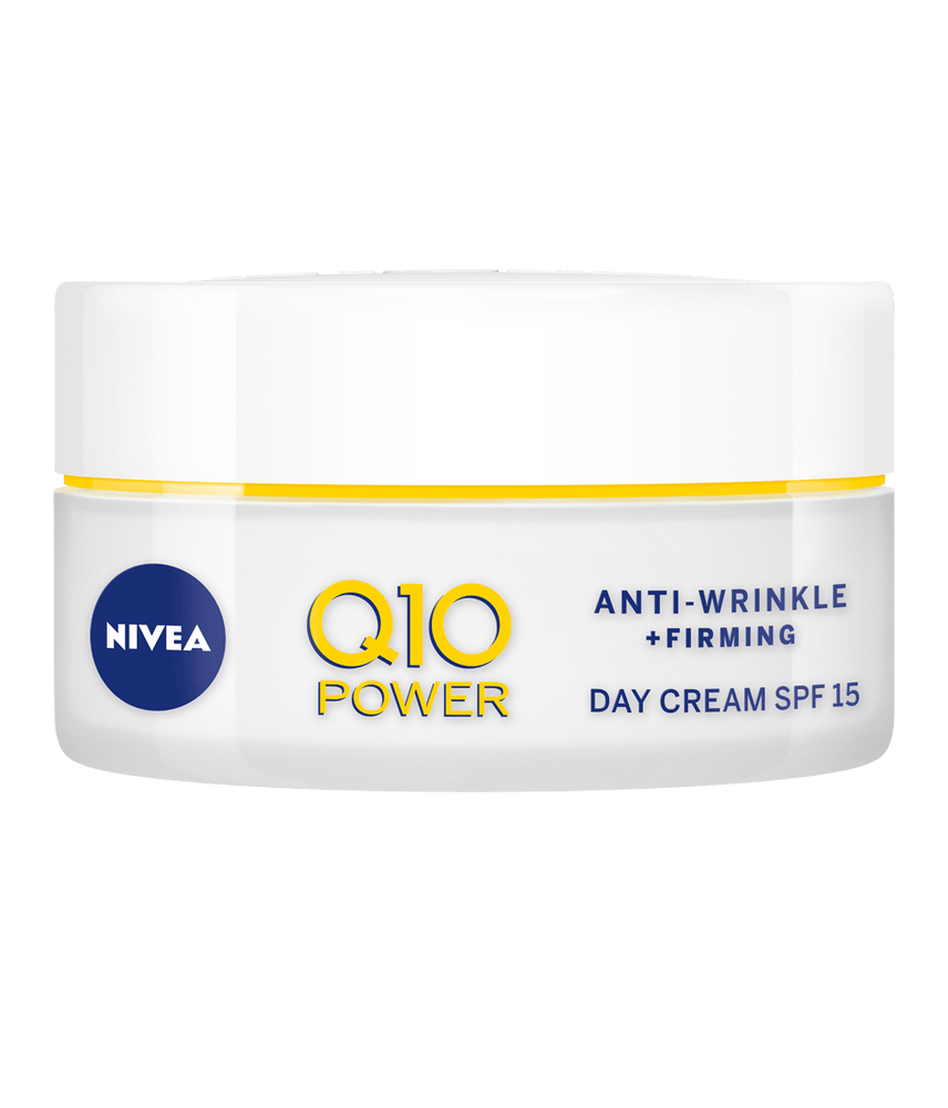 Nivea Q10 Power Anti-Wrinkle + Firming Day Cream SPF15, 50ml