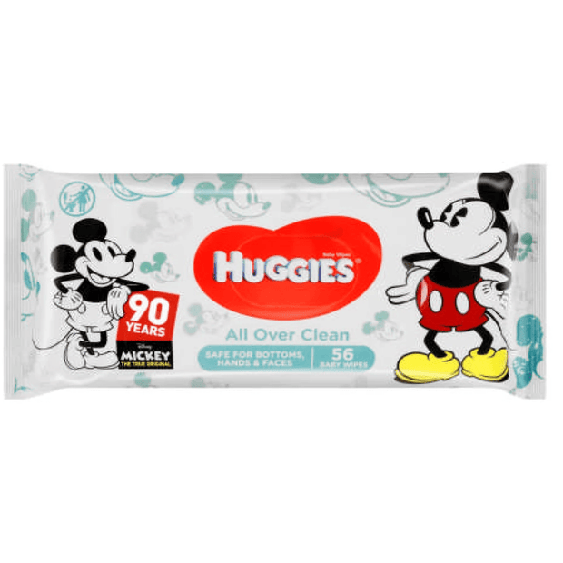 Huggies Baby Wipes All Over Clean Disney, 56's
