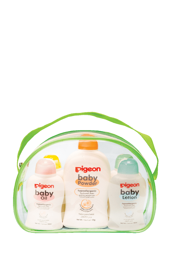 Pigeon Baby Skincare Combo Pack