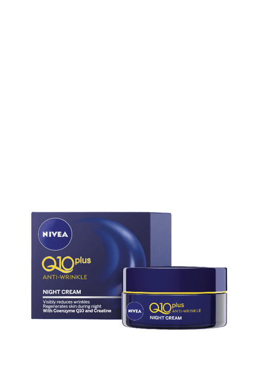 Nivea Q10 Plus Anti-Wrinkle Night Cream, 50ml