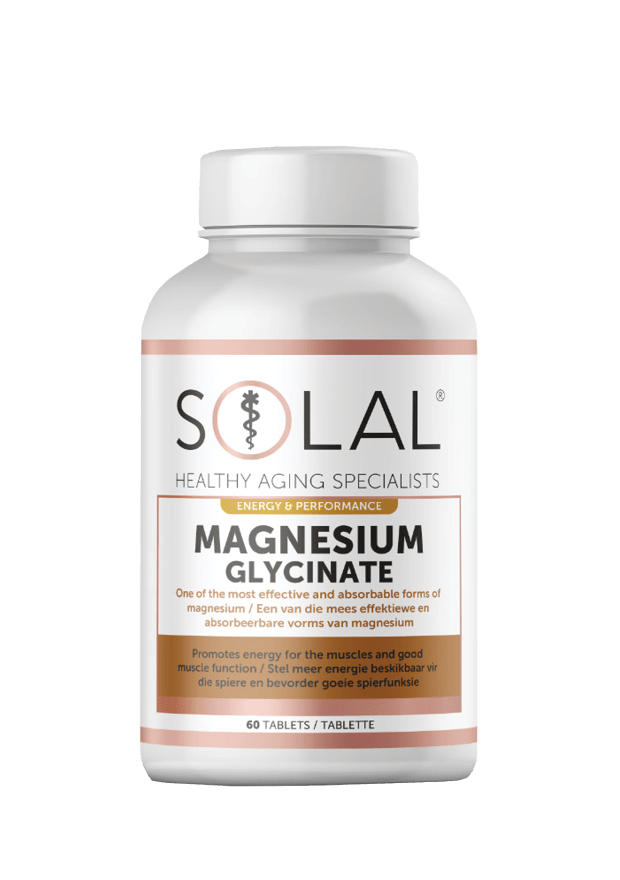 Solal Vitamins Solal Magnesium Glycinate Tabs, 60's 6009663990905 700426001