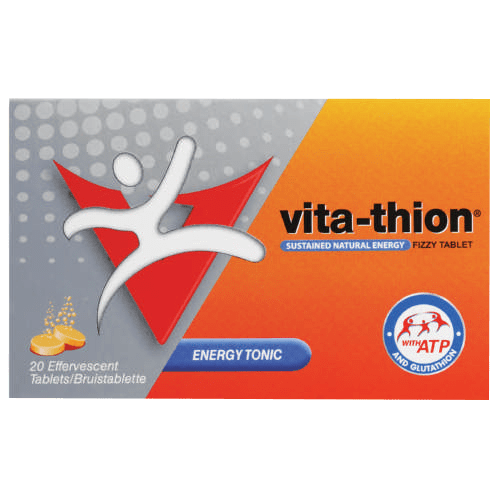 Vita-Thion Energy Tonic Eff Tabs, 20's