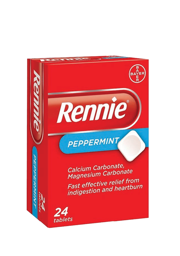Rennie Antacid Tabs, 24's - Various Flavours
