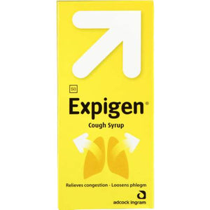 Mopani Pharmacy Dispensary Expigen Cough Syrup, 200ml 6009695580136 725323019