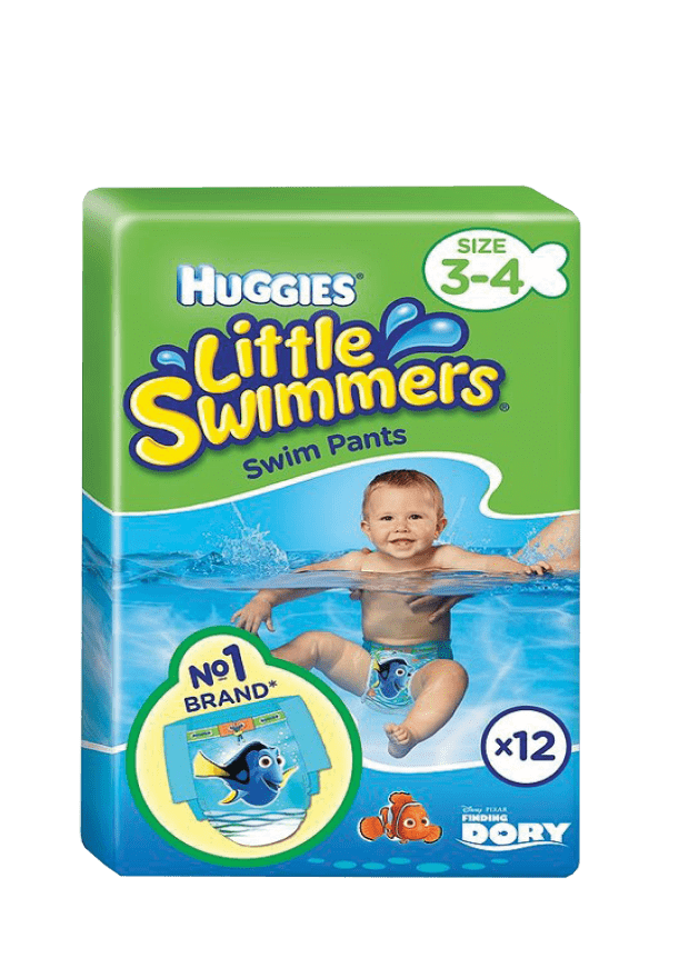 Huggies Little Swimmers Nappies 3-4, 12's