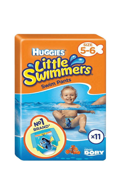 Huggies Little Swimmers Nappies 5-6, 11's
