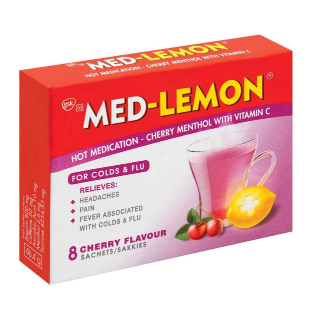 Med Lemon Sachets Cherry, 8's