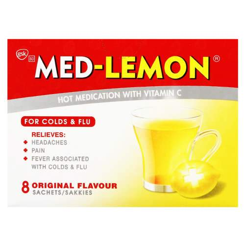 Med Lemon Sachets Vitamin C Regular, 8's