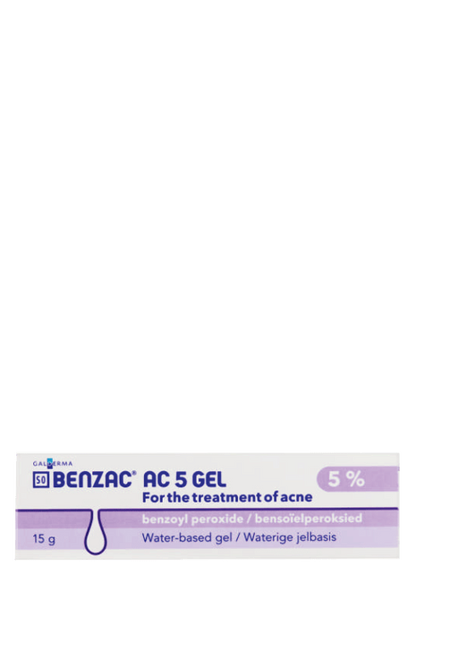 Mopani Pharmacy Dispensary Benzac AC 5 Gel, 15g 6009626120028 807842029
