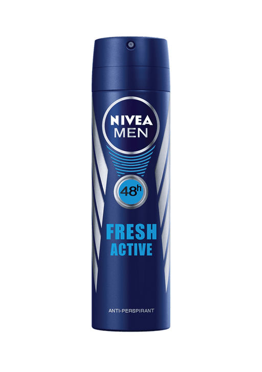 Nivea Toiletries Nivea Anti-Perspirant Deodorant Men Fresh Active 150ml 4005808300228 81520
