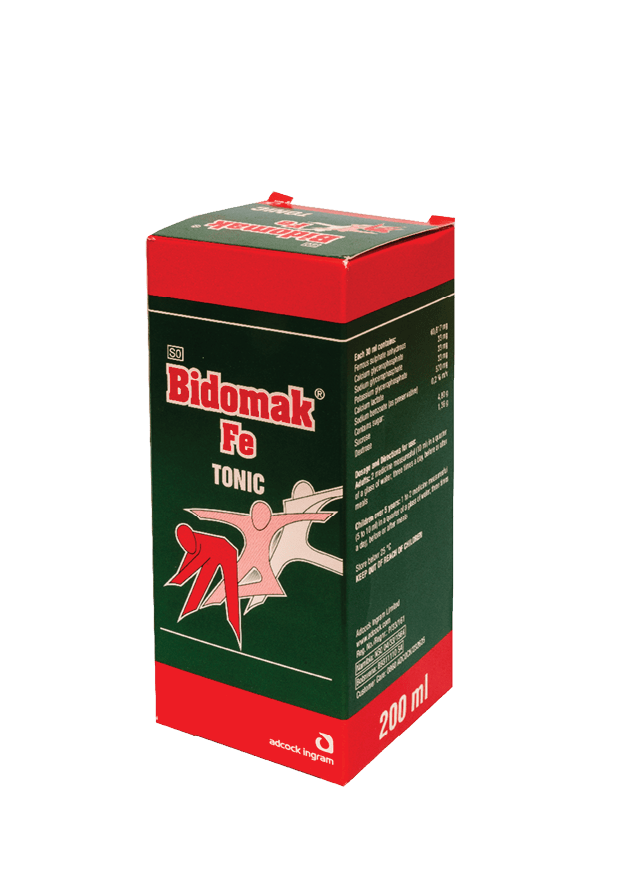 Bidomak Fe Tonic Syrup, 200ml