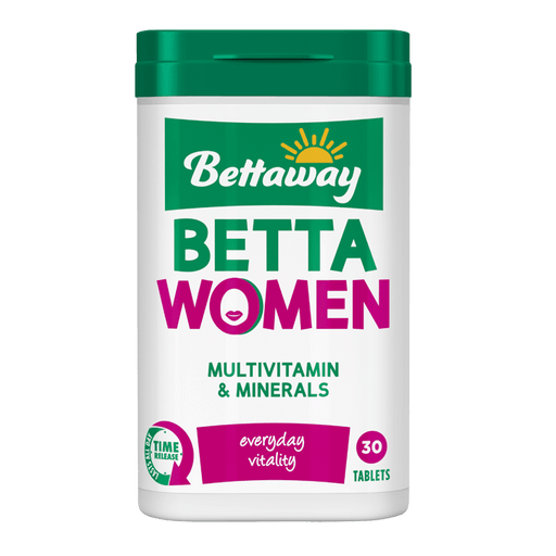Bettaway Vitamins Bettaway Betta Women Multivitamin & Minerals Tabs, 30's 6001860098842 838519016