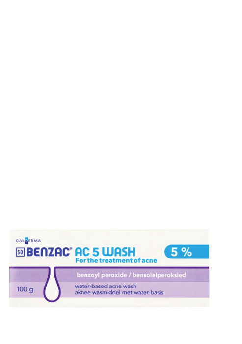 Mopani Pharmacy Dispensary Benzac AC 5 Wash, 100g 6009626120042 856924008