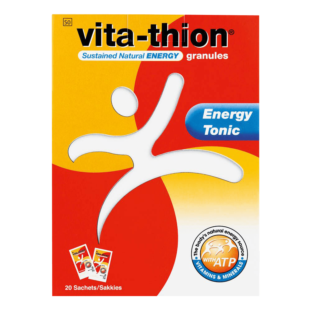 Mopani Pharmacy Vitamins Vita-Thion Energy Tonic Sachets, 20's 6002999000386 883802004