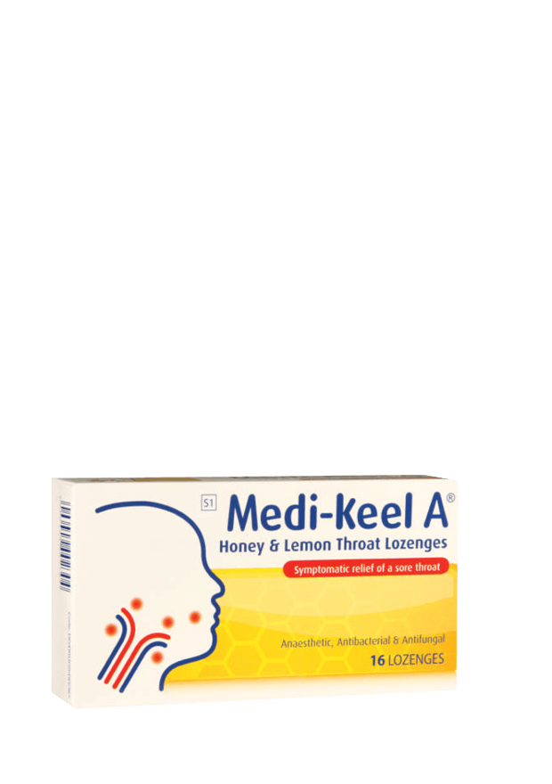 Medi-Keel A Throat Lozenges, 16's