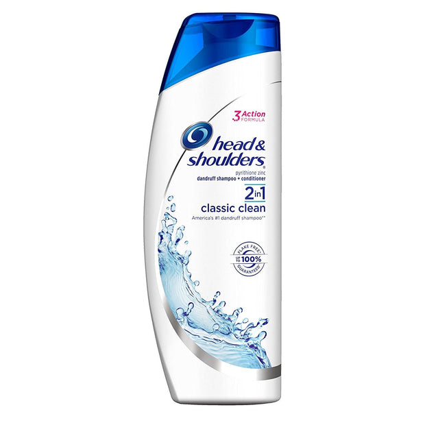 Head & Shoulders Anti-Dandruff 2 in 1 Shampoo and Conditioner, 400ml, Various Types