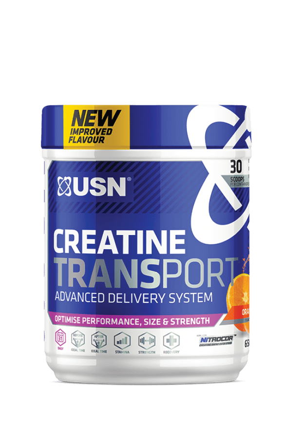 USN Creatine Transport, 650g, Various Flavours