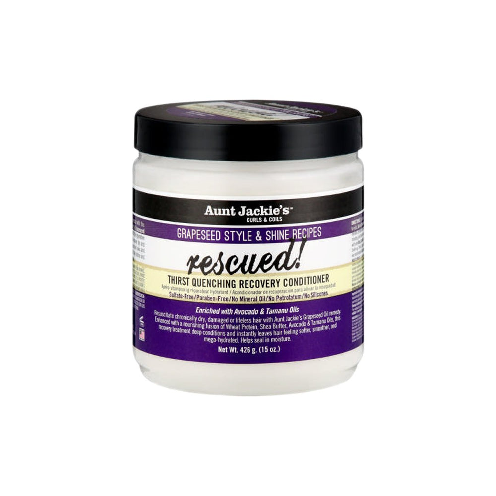 Aunt Jackie's Rescued! Grapeseed Conditioner, 426g